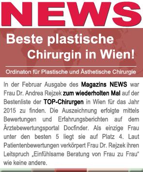 Beste plastische Chirurgin in Wien